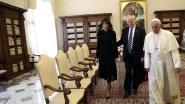 """Trump bezoekt paus Franciscus: """"Dit is een hele eer"""""""