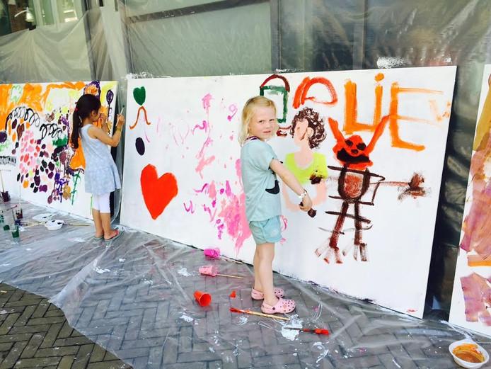 Schilderen op het Kindplein
