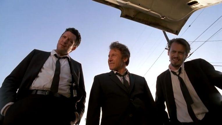 Michael Madsen, Harvey Keitel en Steve Buscemi Beeld