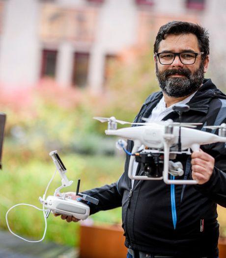 Drones gaan helpen met zwijnen tellen in Twente