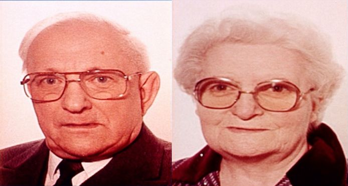 Slachtoffers Jules Bogaerts en Jeanne Jacobs.