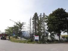 Drie buitenbranden in korte tijd rond Lange Linden in Katwijk