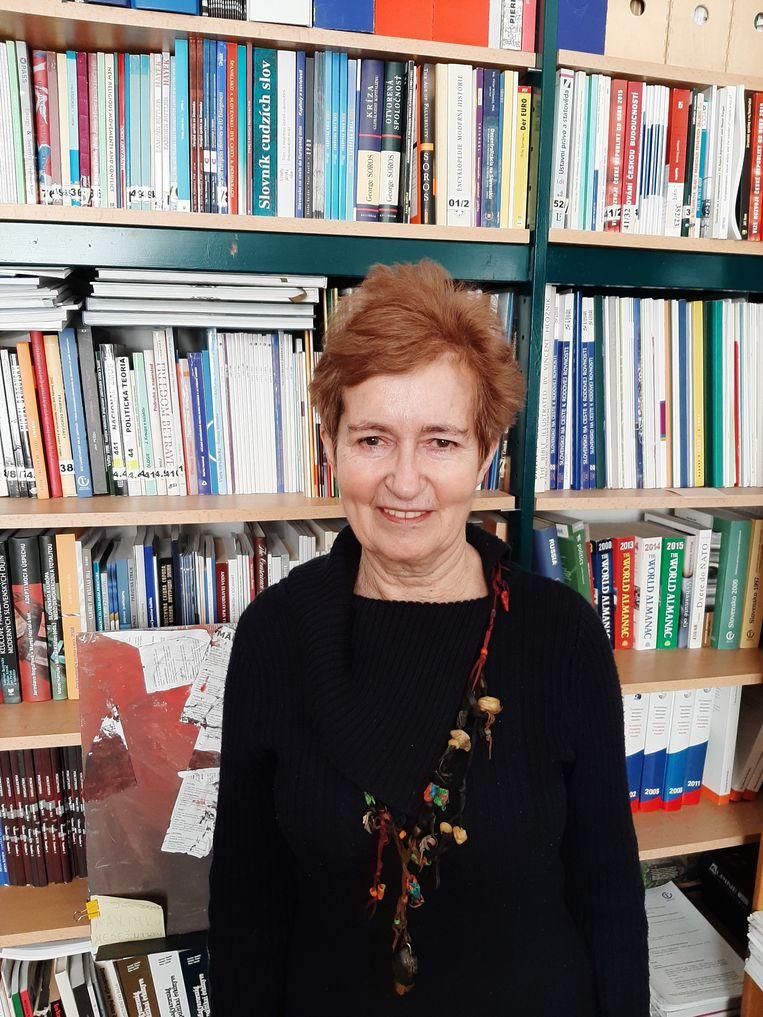 Zora Butorova Beeld