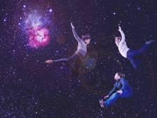 Muzikanten van Trifid verwerken buitenaardse klanken in concert