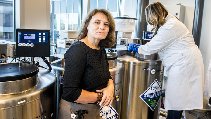 Gynaecoloog Monique Mochtar in het AMC.