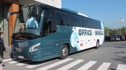 Elders een flop maar bij Colruyt Group een succes: de kantoorbus blijft naar Halle rijden