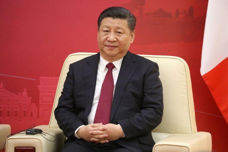 Er werden plechtige intenties getekend in aanwezigheid van partijleider Xi Jinping. Beeld null