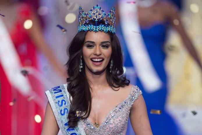 Miss India - en nu Miss World - Manushi Chhilar.