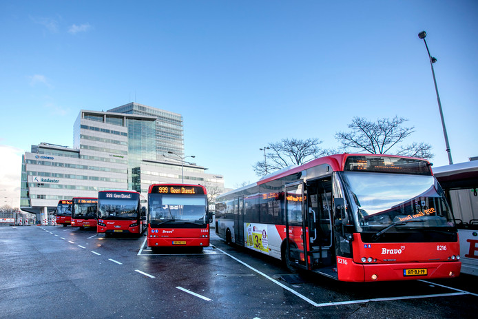 Eindhoven busstation Neckerspoel (foto ter illustratie).