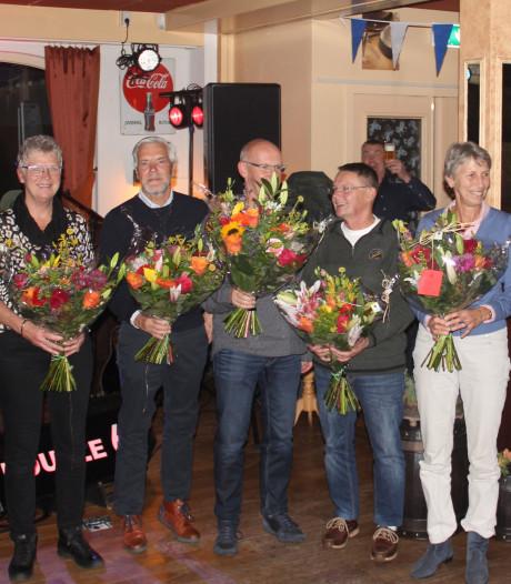 Loopgroep De Lutte eert grondleggers bij jubileum