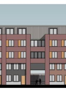 Winkelcentrum Dordt krijgt nieuw woongebied met complex van vijf verdiepingen