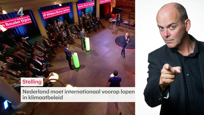 Het verkiezingsdebat op RTL4