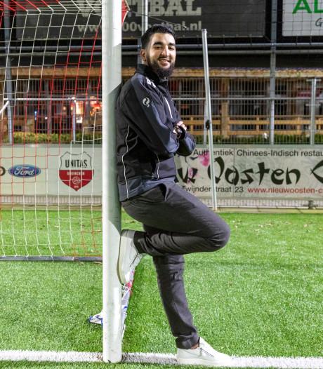 Othman (21) zorgt voor frisse wind als trainer van Unitas