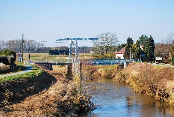 Archieffoto: de oude Hansbrug over de Dijle.