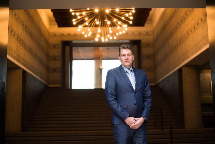 Coen Verheij, de nieuwe lijsttrekker van de PVV in Arnhem.