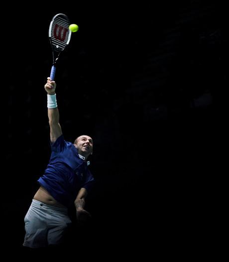 Britse tennissers in Davis Cup snel klaar met Duitsers