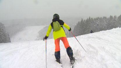 Genieten van sneeuwpret in de Hoge Venen vandaag, want in het weekend is de sneeuw alweer verdwenen
