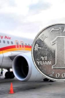 Man aangeklaagd voor gooien geluksmuntjes naar vliegtuigmotor Lucky Air
