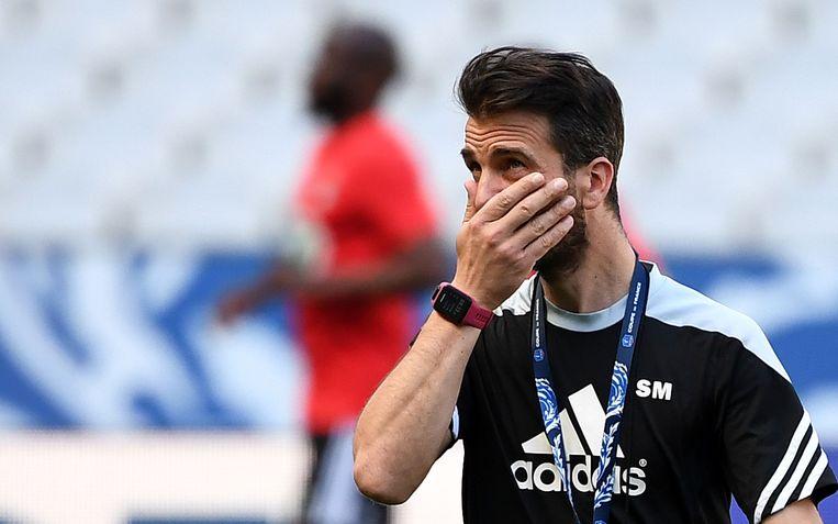 Stephane Masala, coach van Les Herbiers.