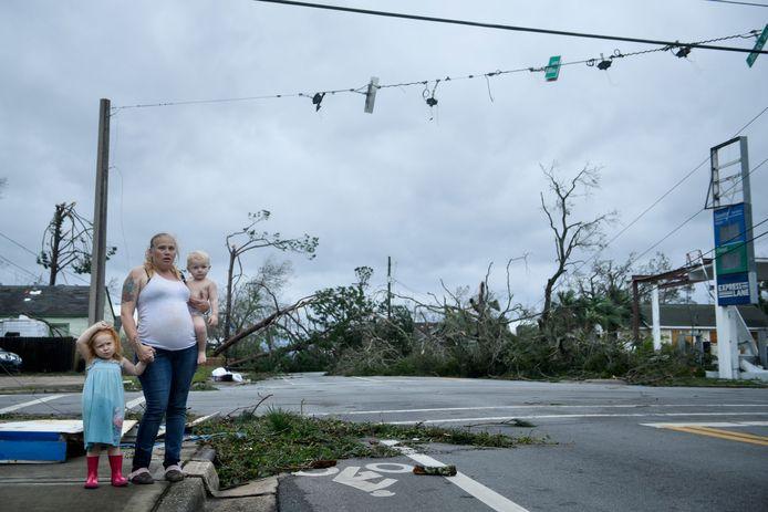 De intensiteit van stormen en orkanen zoals Michael die Florida in oktober 2018 trof, kan volgens de negatieve klimaatbeoordeling rechtstreeks gelinkt worden aan de klimaatverandering.