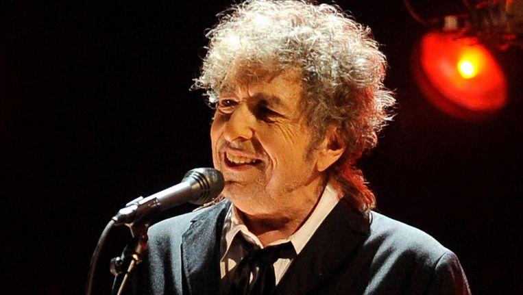 Bob Dylan tijdens ene concert in 2012. Beeld ap