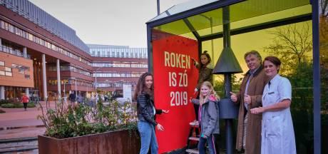 Kinderen lanceren samen met longartsen de 'Roken is zó 2019'-campagne bij het Franciscus