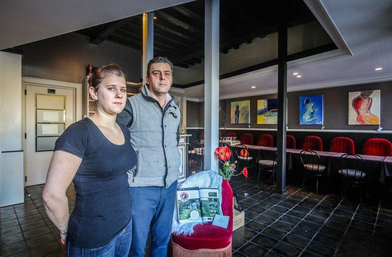 Veurne inbraak in restaurant Lowie: Stephanie Vandeputte en Carlos Vanpeperstraete