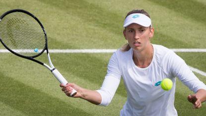 Elise Mertens ook in dubbelspel naar tweede ronde op Wimbledon