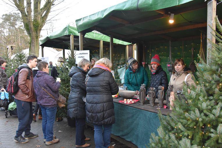 Ook het Smeedeshof in Oud-Turnhout organiseerde vorig jaar een kerstmarkt.