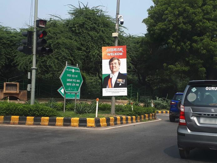 India is klaar de koninklijke visite uit Nederland.