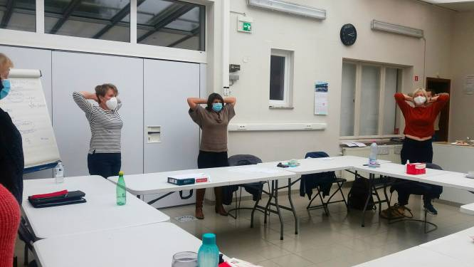 Praktijk-bijscholingen voor zorgkundigen gaan veilig door bij Pajottenlands Centrum in Lennik