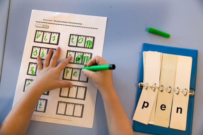De meeste aandacht ging uit naar begrijpend lezen, de woordenschat verbeteren en rekenen. Foto ter illustratie.
