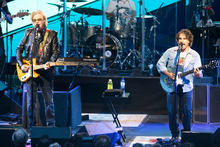 Hall and Oates 16 july 2019 OLT Rivierenhof Deurne Antwerp Photo: Alex Vanhee Daryl Hall and John Oates, often referred to as Hall & Oates, are an American pop rock duo Beeld Alex Vanhee