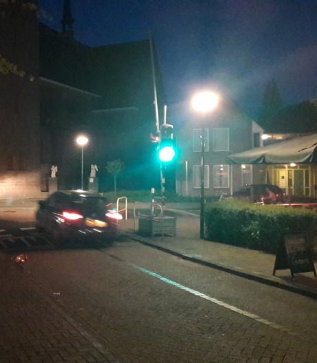 Boschweg in Schijndel heeft tijdelijke verkeerslichten