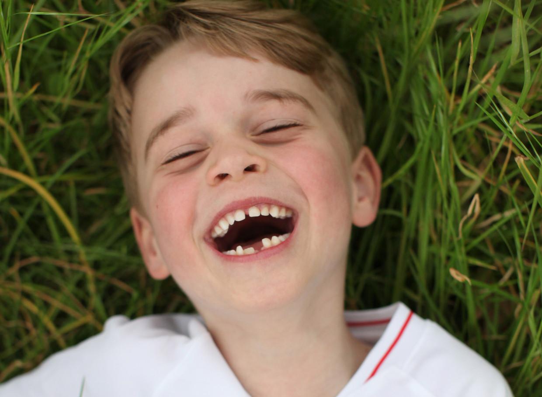 Prins George, zoon van prins William en Kate. Beeld Kate Middleton