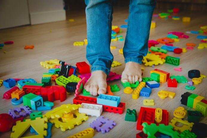 Maak eens en voor altijd korte metten met rondslingerende bouwblokjes.