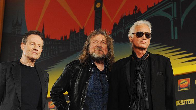 Leden van de band Led Zeppelin mogen voor de rechtbank verschijnen voor hun grootste hit Stairway to Heaven. Beeld EPA