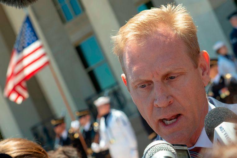 Waarnemend Amerikaans minister van Defensie Patrick Shanahan.