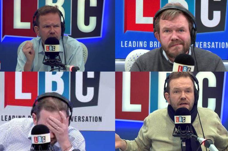 James O'Brien spreekt dagelijks drie uur lang over de brexit: de voor- en vooral de nadelen.