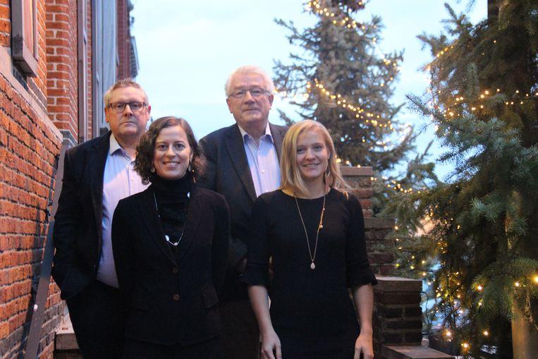 Het nieuwe schepencollege bestaat uit burgemeester Cynthia Browaeys en schepenen Janna Bauters, Hendrik Blommaert en Guy Glorieux.