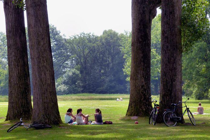 Het Leijpark (archieffoto).