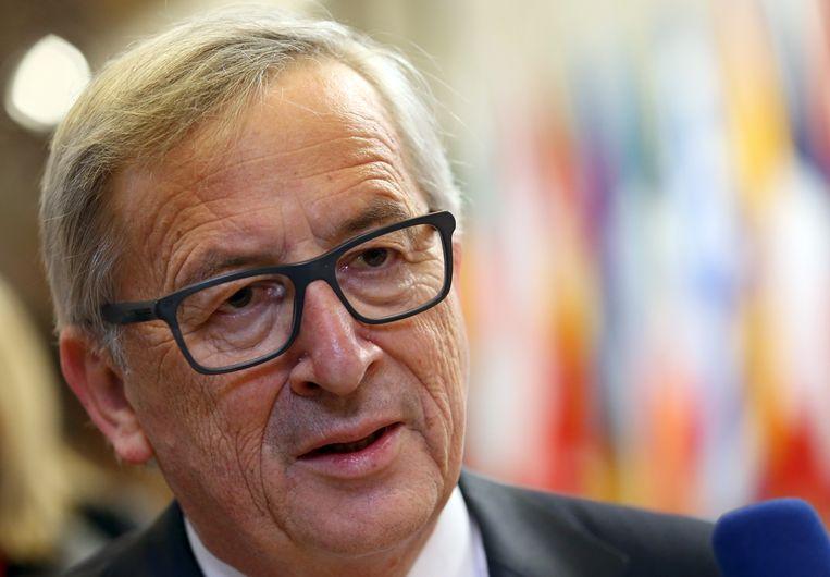 EU-voorzitter Jean-Claude Juncker. Beeld AP