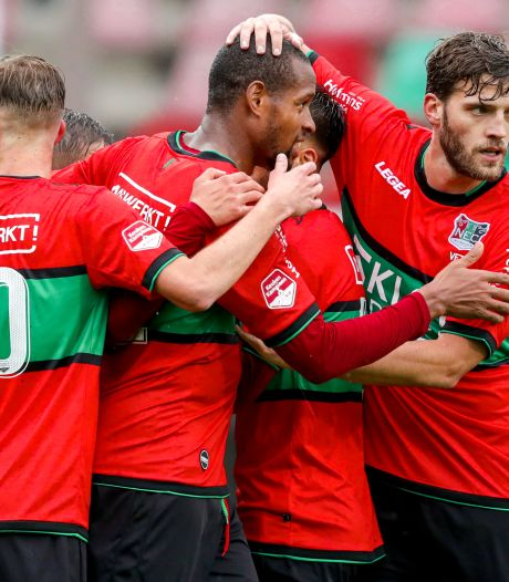 NEC biedt volop vermaak in een theater zonder publiek, FC Eindhoven figureert: 6-0