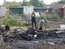 Man vast op verdenking van brandstichting in eigen caravan in  Ritthem