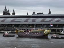 VOC-schip weer waterdicht: 'We zijn verrast door de goede staat'