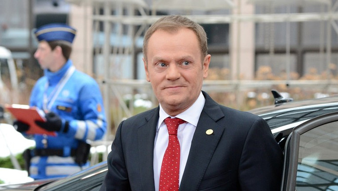 De Poolse premier Donald Tusk