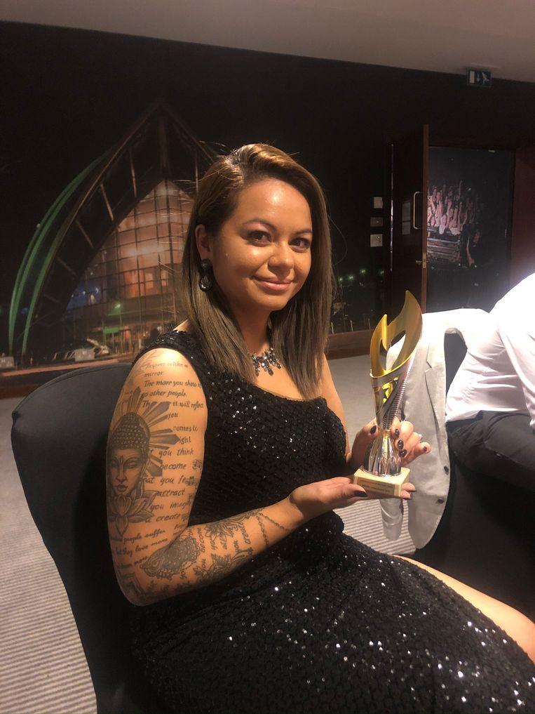 Op de Lash Artistic Fur Awards won Shey 'Educator of the Year'-award.