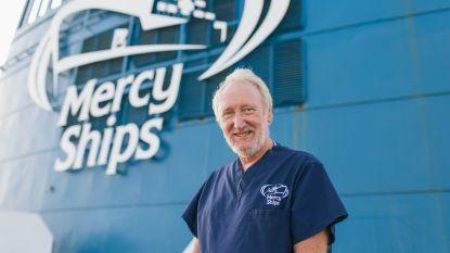 """Dr. Jos Claes is Vlaamse chirurg op Mercy Ships: """"Op het schip kun je mensen een nieuw leven geven"""""""