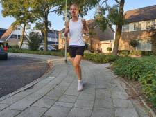 Inge (34) loopt unieke marathon voor Kika, langs tal van vrienden in Oss en Uden