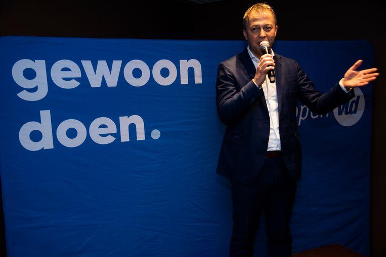 Egbert Lachaert wil nationaal partijvoorziter worden van Open Vld.